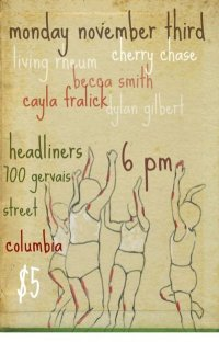 Show Preview:Dylan Gilbert/Becca Smith/Cayla Fralick/Cherry Case/Living Rheum