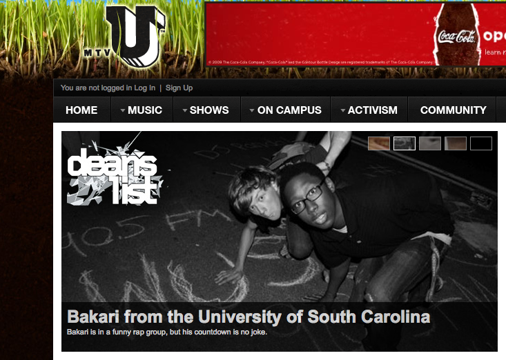 MTVU Hearts Bakari Lebby