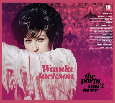 Album Review: Wanda Jackson-The Party Ain't Over