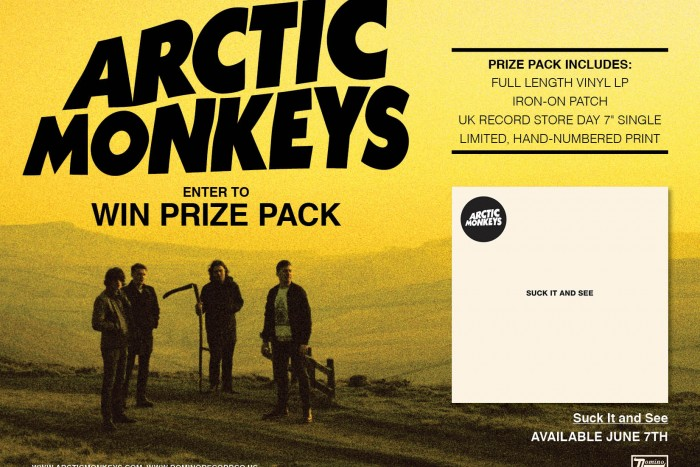 Free Giveaway: Arctic Monkey's Prize Pack