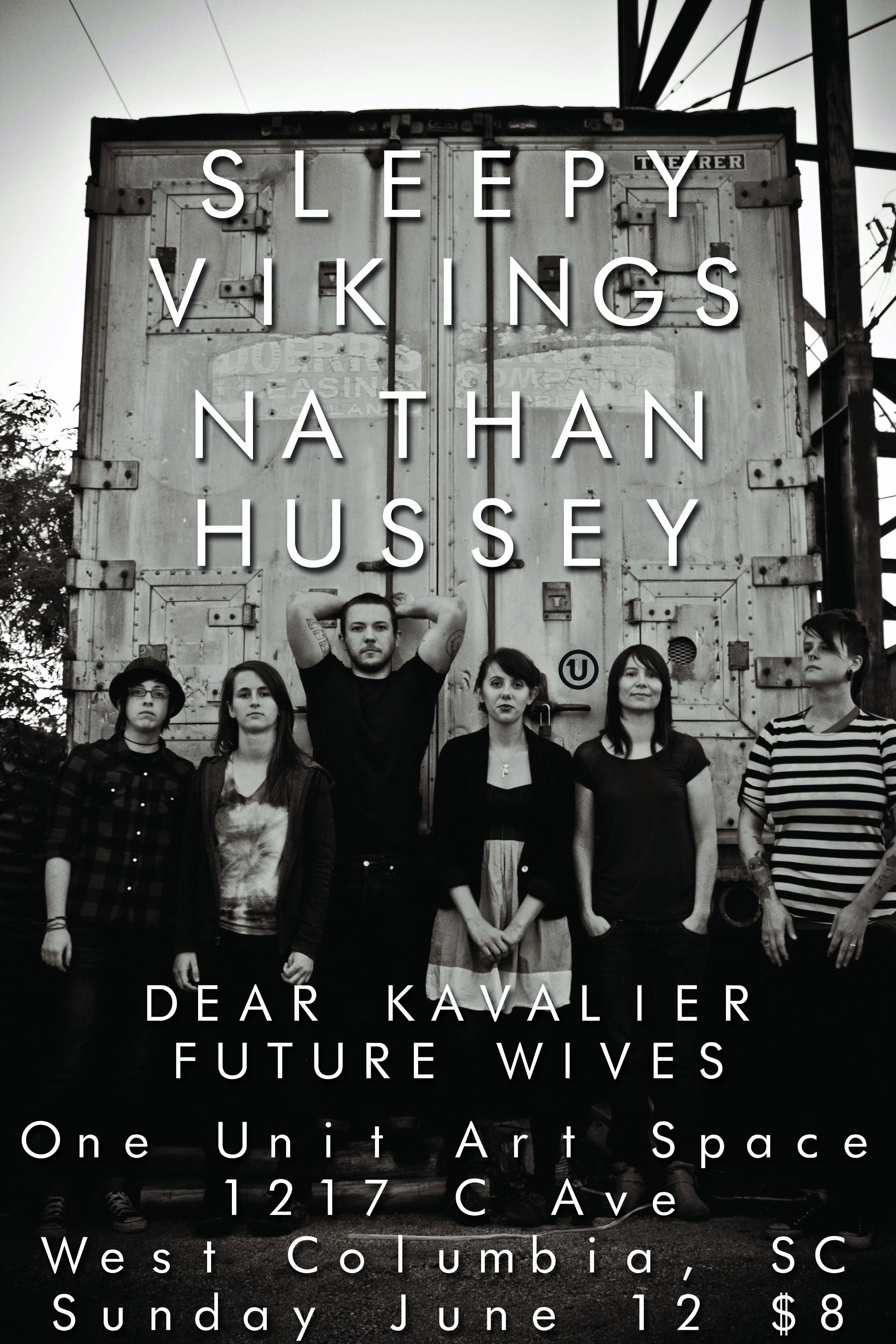 Show Preview: Nathan Hussey, Sleepy Vikings at One Unit Art Space
