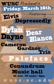 Show Preview: WUSC Presents… Elvis Depressedly, Paleface, & More
