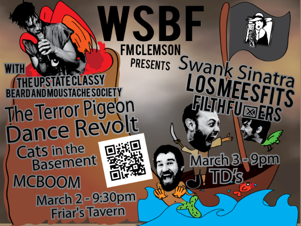 Show Preview: WSBF presents Swank Sinatra, Los Meesfits, and Filth Fuxers