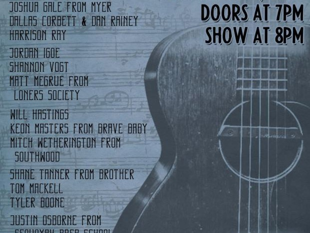 Show Preview: Singer/Songwriter Night in Benefit of The Lowcountry Food Bank at the Charleston Hippodrome