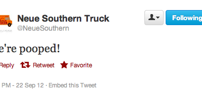 Twitter Thursday: @neuesouthern and @eimusic