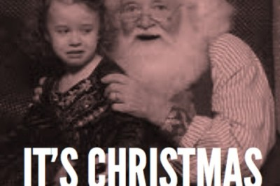 Brave Baby Releases Christmas Songs, Santa Scares Unbrave Toddler