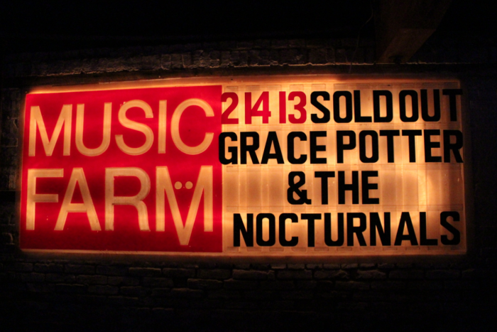 [Show Journal] Grace Potter and the Nocturnals at Music Farm, aka the Best Valentine's Day Ever