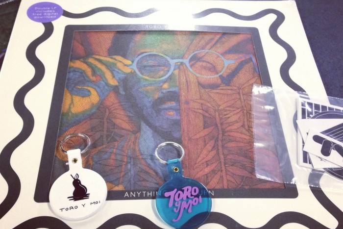 Enter To Win: Toro y Moi 'Anything in Return' Vinyl/Keychain/Stickers