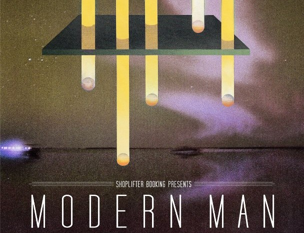 Shoplifter Booking Showcase with Modern Man/Cement Stars/Knives and Daggers