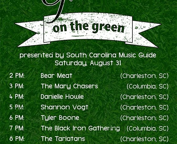 SC Music Guide Presents Locally Grown on the Green