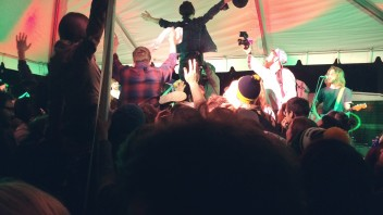 Diarrhea Planet Spew on SXSW