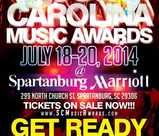 SC Music Awards Announce Location and Nominees