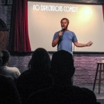 Rory Scovel performing a feature set at No Expectations Comedy