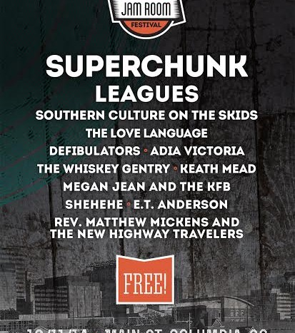 Superchunk Headline Jam Room Music Festival