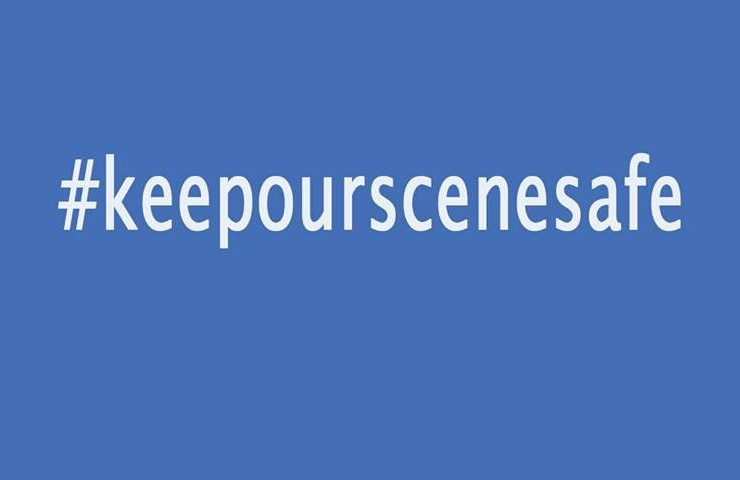 #KeepOurSceneSafe at First Thursday